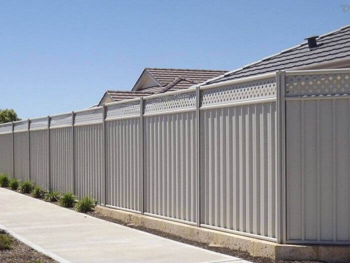 colorbond metal roofing and fencing