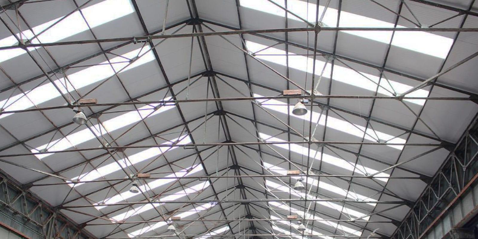 Ampelite Dual Roof Fibreglass Skylight System Sydney