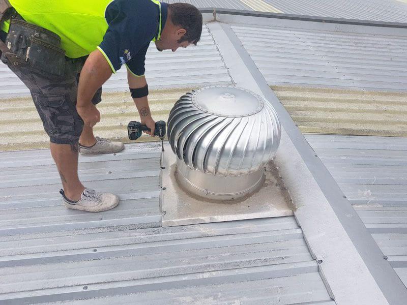 industrial roof ventilation Sydney