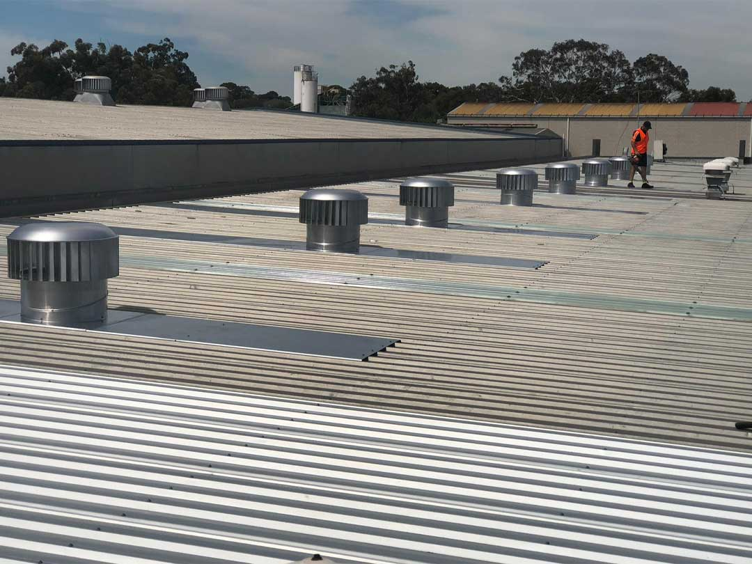Industrial Roof Vent Installation sydney