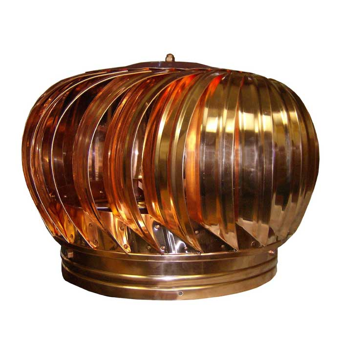 luxury metals turbine vent galvanized