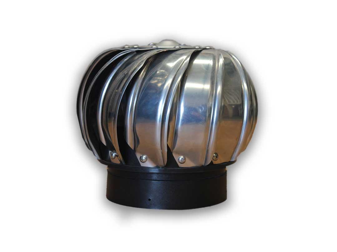 mini stainless steel whirlybird vent