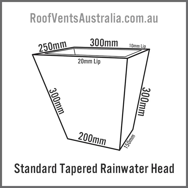 tapered-rainwater-head-australia