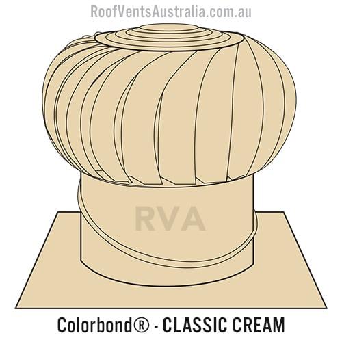 classic cream roof vent australia