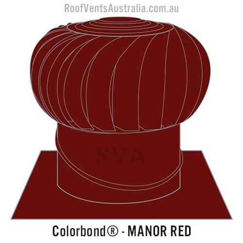 manor red roof vent whirlybird