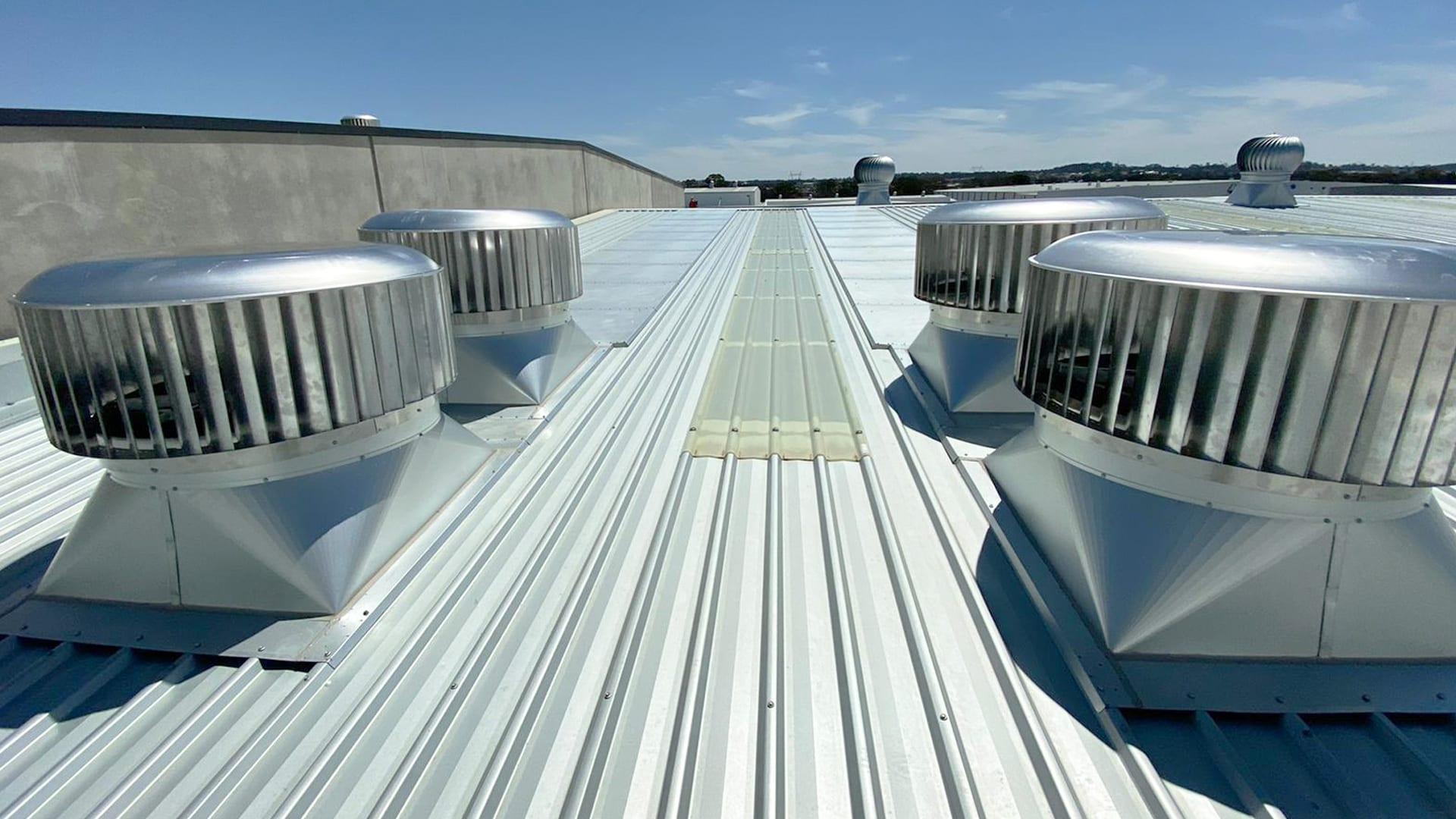 Commercial roof ventilators sydney