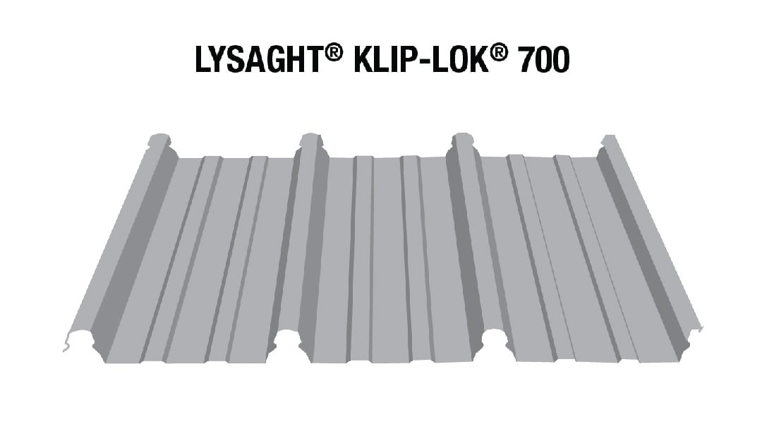 Klip Lok 700 Lysaht Australia