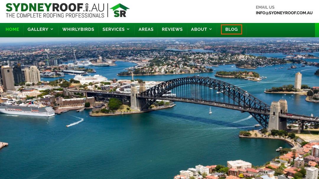 Roof Leak Repair Sydney Australia