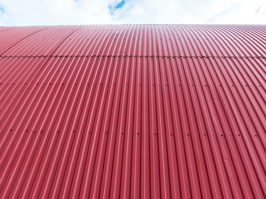 Commercial roofing red roof