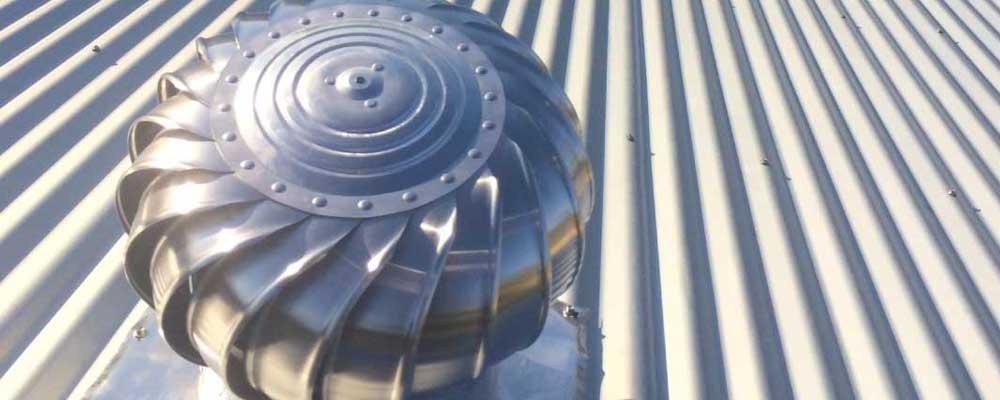 Roof Ventilation – Whirlybirds, Roof Vents and Their Installation & Application