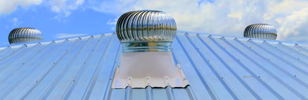 commercial roof vent whirlybirds
