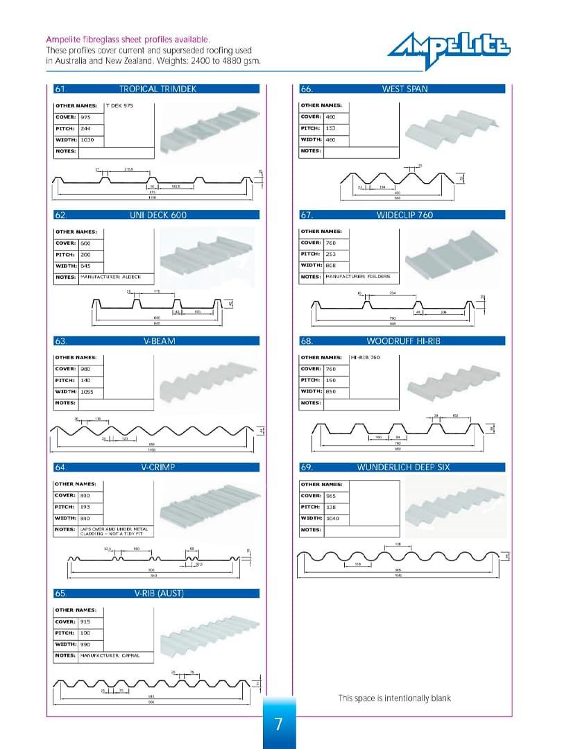 ampelite profiles 7