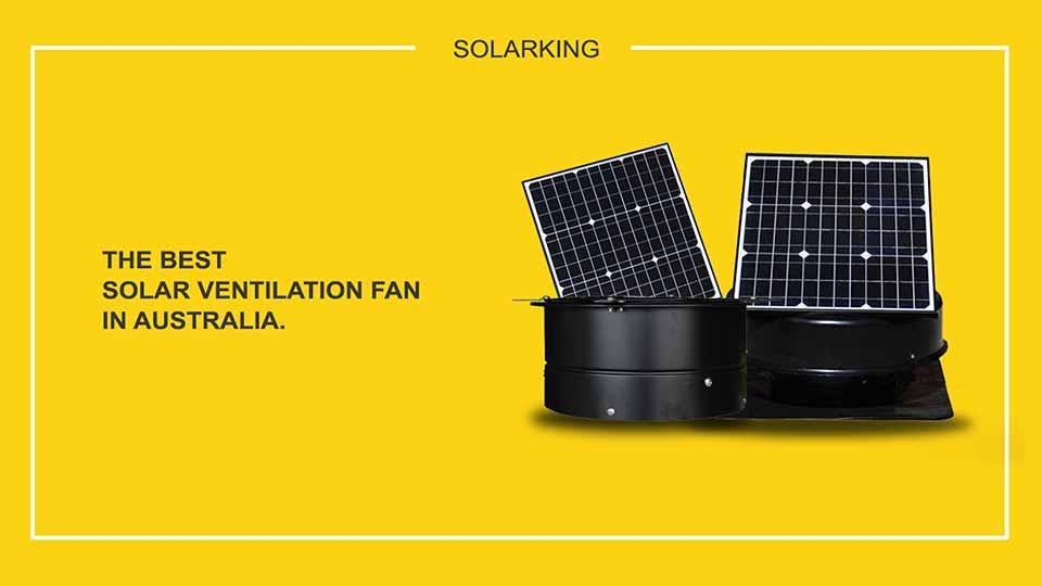 35 Watt solar roof vent solar king