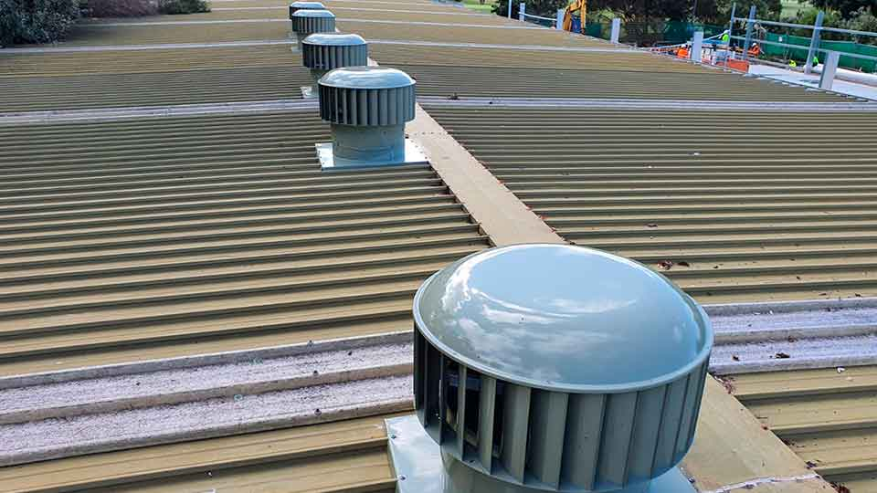industrial roof exhaust vent