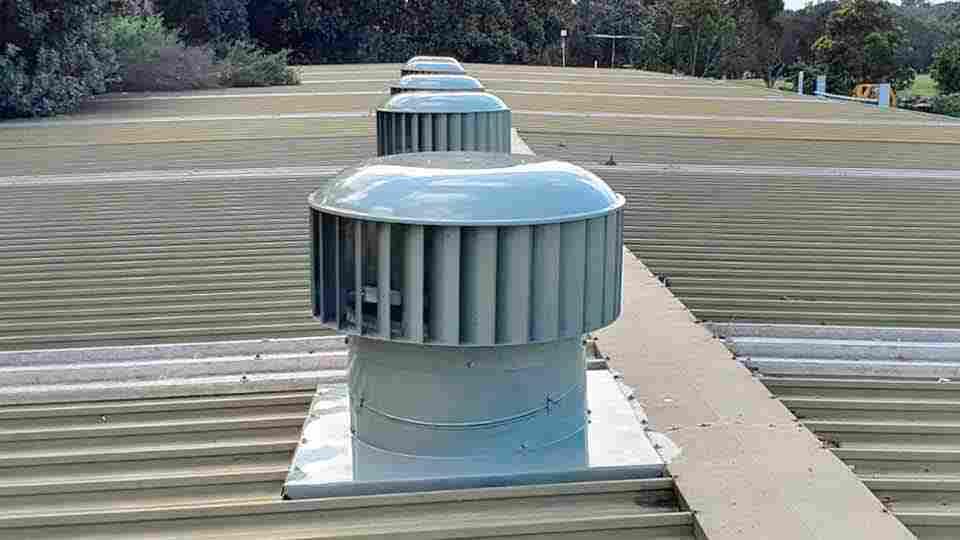 industrial mushroom roof vents