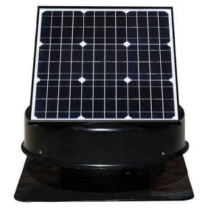 35 Watt solar roof vent solar king