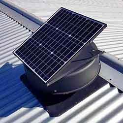 solar attic fan vs whirlybirds