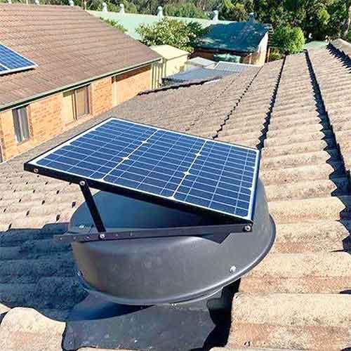 solar king solar powered roof vent
