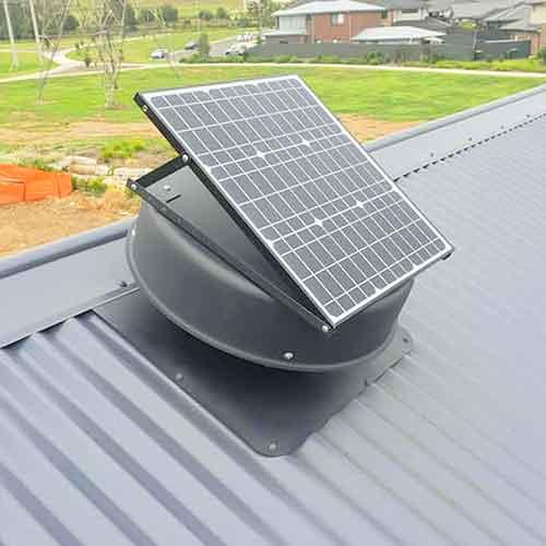 solar panel whirlybird