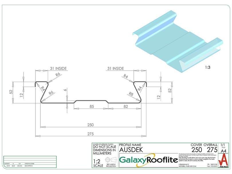 Ausdek-Fibreglass Roofing Panels