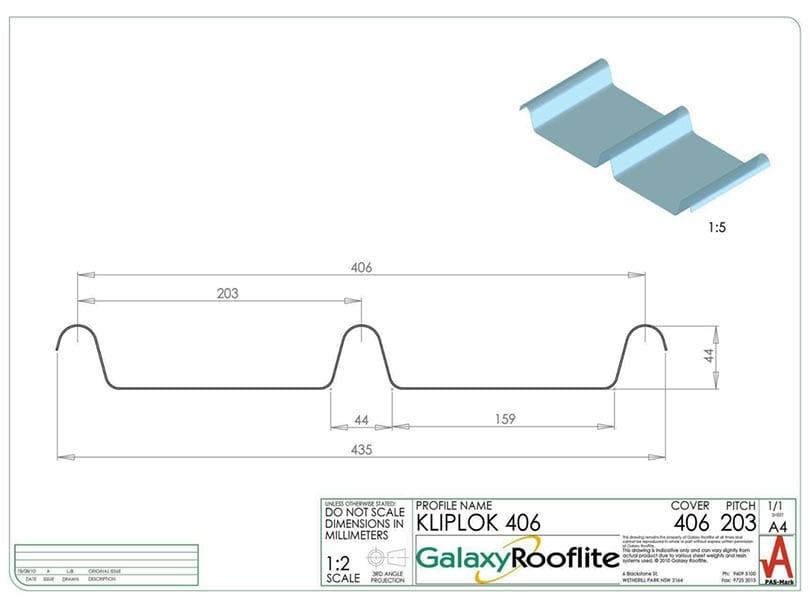 cliplok-406-fibreglass-roofing-panel-profile