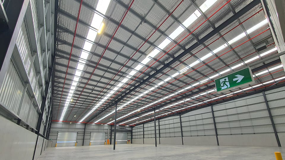 warehouse cooling system australia