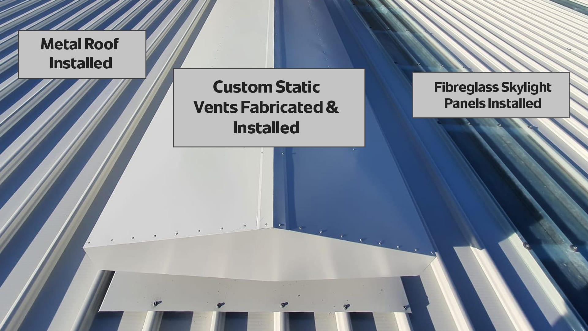 custom-fabrication-commercial-metal-roof-installation-sydney-australia