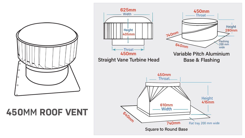 sv450mm-commercial-industrial-roof-turbine-vent-australia-v-sp1a